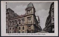 Litzmannstadt, Dresdner Bank, Ecke Adolf Hitlerstrasse