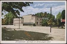 Litzmannstadt, Sporthalle im Hitler-Jugend-Park