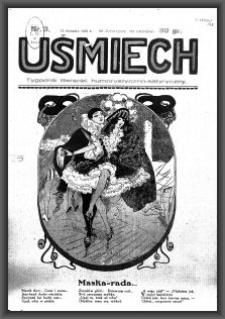 Uśmiech : tygodnik literacki, humorystyczno - satyryczny. 1929-01-12 [R. 3] nr 3