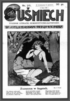 Uśmiech : tygodnik literacki, humorystyczno - satyryczny. 1929-07-11 [R. 3] nr 29