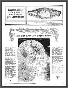 """Neujahrs-Beilage zur No 587 des Handels- und Industrieblatts """"Neue Lodzer Zeitung"""". [1907-01-01 Jg 6] No 1"""