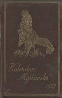 Kalendarz Myśliwski : na 1937 rok
