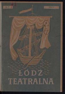 Łódź Teatralna. 1946/[19]47 [R. 1] nr 8