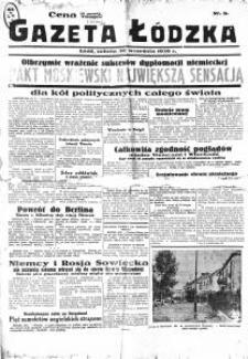 Gazeta Łódzka. 1939-09-30 [R. 1]nr 8
