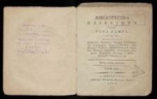 Biblioteczka dziecinna. T. 3 / przez Pana Kampe ; [przedm. tłomacza francuzkiego].