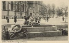 Łódź : Grób Nieznanego Żołnierza