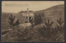Mogiły poległych pod Łodzią 1914 = Gräber der um Lodz Gefallen 1914