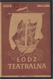 Łódź Teatralna. 1948/[19]49 R. 3 nr 1
