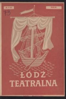 Łódź Teatralna. 1948/[19]49 R. 3 nr 3