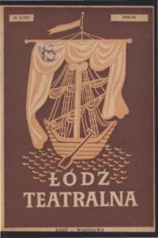 Łódź Teatralna. 1948/[19]49 R. 3 nr 5