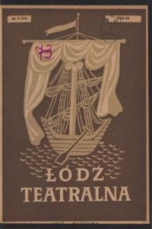 Łódź Teatralna. 1948/[19]49 R. 3 nr 6
