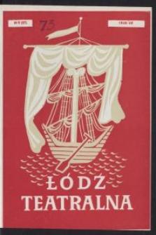 Łódź Teatralna. 1948/[19]49 R. 3 nr 9