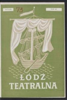 Łódź Teatralna. 1948/[19]49 R. 3 nr 10