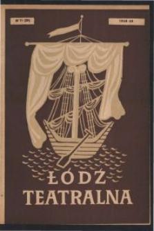 Łódź Teatralna. 1948/[19]49 R. 3 nr 11