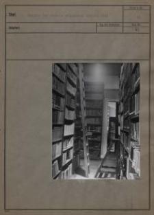 Magazin der ehemals polnischen Bücherei 1941