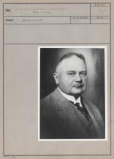 Dr. Alfred Biedermann, Litzmannstadt