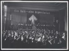 """DVV Kundgebung : (""""Ein Volk eine Organis."""")"""