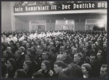 DVV Kundgebung : Sängerhaus