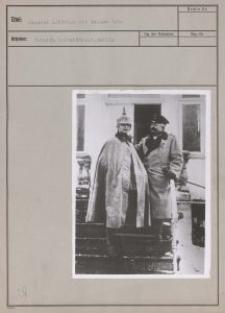 General Litzmann mit seinem Sohn