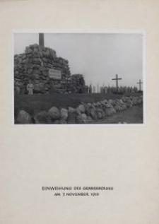 Gräberberg 1916. 5, (Am Hochkreuz) = Einweihung des Gräberberges am 7 November 1916