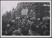 Gräberberg 1938 : Totenfeier : (am Hochkreuz)