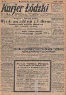 Kurjer Łódzki. 1933-01-30 R. 33 nr 30