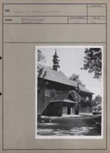 Laznow bei Rokaciny [sic!] : Holzkirche