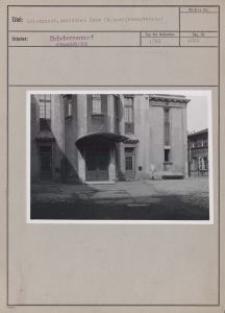 Litzmannst. : Deutsches Haus (Männergesangverein)
