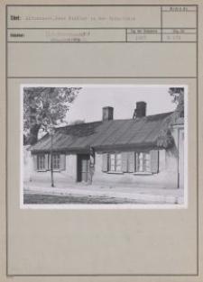 Litzmannst. : Haus Richter in der Spinnlinie