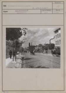 Litzmannst. : Hohensteinerstr. / [fot. Włodzimierz Pfeiffer]