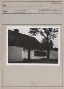 Litzmannst. : Weberhaus in der Böhmischen Linie
