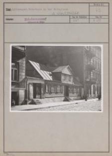 Litzmannst. : Weberhaus in der Spinnlinie