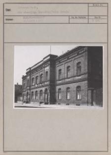 Litzmannstadt : die ehemalige Scheibler'sche Schule