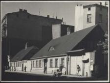 Litzmannstadt : Holzhäuser i. d. Horst-Wessel-Str.