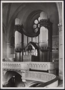 Litzmannstadt : Matthäi-Kirche, Orgel / [fot. Włodzimierz Pfeiffer]