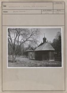 Litzmannstadt : Waldborn, alte Holzkapellen
