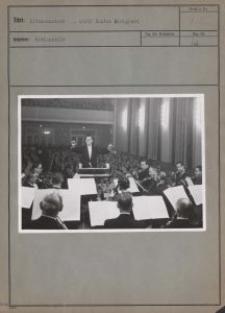 Litzmannstadt, Adolf Bautze dirigiert