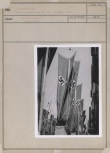 Litzmannstadt, Fahnenschmuck zum Tag der Freiheit 1939