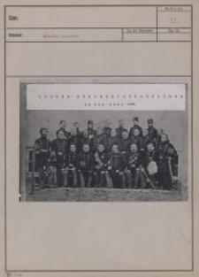 Lodzer Bürgerschützengilge [sic!] um das Jahr 1836