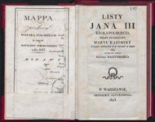 Listy Jana III krola polskiego, pisane do krolowy Maryi Kazimiry w ciągu wyprawy pod Wieden w roku 1683 / wyd. przez Edwarda Raczyńskiego