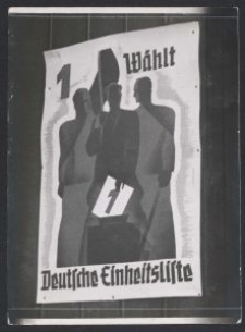 Wahlplakat des Deutschen Volksverbandes : (1938)