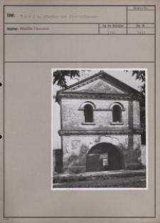 Warta : Eingang zur Klosterkirche