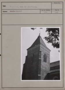 Warta : Turm der Pfarrkirche