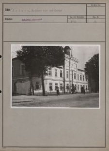 Zgierz : Rathaus vor dem Umbau