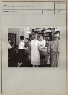 Ausleihe der Volksbücherei 1942