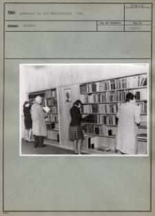 Lesesaal in der Hauptstelle 1943
