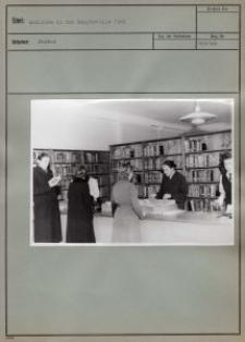 Ausleihe in der Hauptstelle 1943
