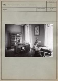 Wissenschaftliche Bücherei : Arbeitsraum