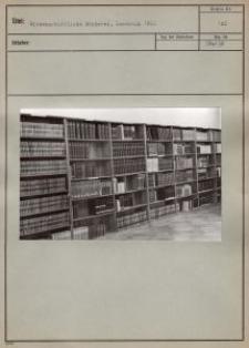 Wissenschaftliche Bücherei, Leseraum 1942