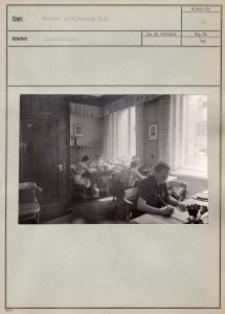 Kleiner Arbeitsraum 1941